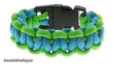 How to Make a Basic Cobra Paracord Bracelet by Beadaholique with the clasps ~ Very well done video (14.52 mins)