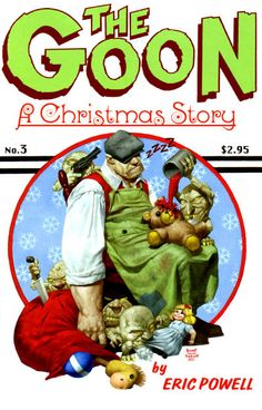 Cover for The Goon (Albatross Exploding Funny Books, 2002 series) #3