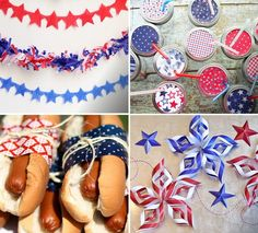 4th of July DIY: Garlands, Lanterns, and Other Ideas to Make Your Party Amazing!