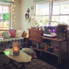 Peaceful lounge room 💚