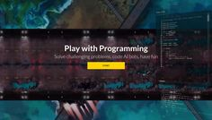 CodinGame is a challenge-based training platform for programmers where you can…