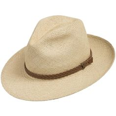 c89deabab98fd Fedora Packable Classic Straw Panama Hat. Ultrafino