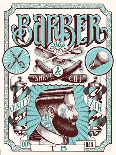 Vanity fair barber shop on Behance