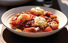 Colin's vegetarian stew with cheddar & herb dumplings | Wonderbag