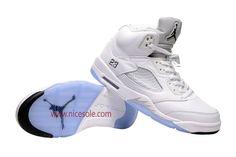 air-jordan-5-White Silver-03