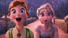 Disney's Frozen Fever!  There are two kinds of people. The ones that get surprised during their birthday and then there is the ones that don't!The Elsa type! ha ha! Her face! Both of their faces!