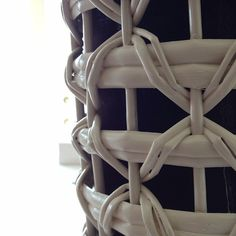#basket #rattan #white #container #pattern by...   Wicker Blog  wickerparadise.com