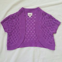 ❗B1G1 1/2 OFF❗GIRLS Justice Purple Knit Top GIRLS Justice Purple Knit Top Size 8/10 ✅Applies only to items with B1G1 1/2 OFF in Title Header ✅Buy 1, Get Second item of equal or lesser value 1/2 off ✅Contact Me Before Purchase... I will Create New Bundle Listing Justice Tops