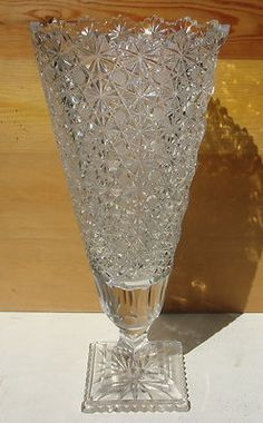"""Stunning 16"""" tall vase."""