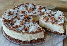 Torta fredda cocco nutella e riso soffiato golosa, semplice e senza cottura, un dolce freddo con cocco e nutella buonissimo , ottimo in estate