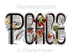 Illustrated word | Art project/Illustrated words ...