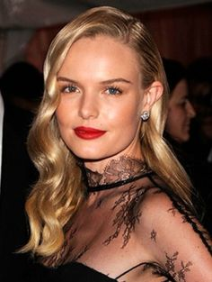 Kate Bosworth Old Hollywood 40s Hairstyle