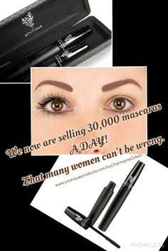 30,000 is nuts lol love this mascara www.youniqueproducts.com/byCharmaineOdam