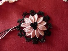 Silk flower Tatting