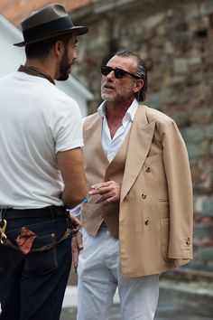 On the Street…..Alessandro S., Florence - The Sartorialist