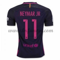 Barcelona Nogometni Dresovi 2016-17 Neymar Jr 11 Gostujući Dres Komplet