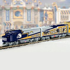 San Diego Chargers Express Train Collection