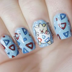 Pokemon Nail Designs