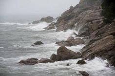 <p>Zona de rocas del litoral de Roses (Girona), en la Costa Brava. EFE/Robin Townsend</p>