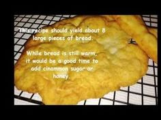 An Easy Cherokee Fry Bread Recipe. The Oklahoma Cherokees make fry bread from a Southern and SW tradition that has been around for a long time. Fluffy Fry Bread Recipe, Native Fry Bread Recipe, Cherokee Fry Bread Recipe, Fried Bread Recipe, Indian Fry Bread Recipe Yeast, Indian Tacos, Biscuits, Native Foods, Easy Bread Recipes