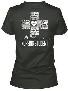 Made for Nursing Student. Check out that cool T-Shirt here:  https://www.sunfrog.com/Funny-nurse-T-Shirt-Black-Ladies.html?53507