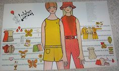 1968 print ad - Ladybug fashion clothing Villager cute girl art vintage ADVERT #Ladybugfashions
