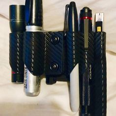 Items similar to Night Stalker Schrade Knife with Kydex Sheath, EDC tool with carbide stricker, and Button Light, on Etsy Phone Holster, Kydex Holster, Knife Holster, Tactical Pouches, Tactical Gear, Handcuff Case, Edc Belt, Custom Holsters, Kydex Sheath