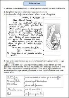 Ecrire une lettre au Père Noël Teaching French, Celebration Around The World, French Grammar, French Classroom, Grammar Rules, French Lessons, Teaching Activities, Learn French, Texts