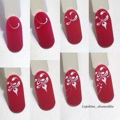 50 simple nail art tutorial for beginners Simple Nail Art Designs, Easy Nail Art, Nail Designs, Pretty Nail Art, Beautiful Nail Art, Nail Art Arabesque, Nail Repair, Nail Decorations, 3d Nails