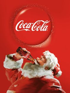 Coca-Cola Santa poster - Coca Cola - Ideas of Coca Cola - Ideas of Coca. Coca-Co Coca Cola Poster, Coca Cola Ad, Always Coca Cola, World Of Coca Cola, Pepsi, Coca Cola Christmas, Christmas Ad, Christmas Pictures, Vintage Christmas
