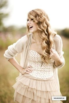 Taylor Swift. So inpirational! She is def leading this generation of girls in the right direction
