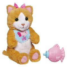 FurReal Friends Feed Me Babies Sip 'N Purr Kitty Pet Alanna 2nd choice