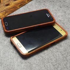 Engraved Wooden Phone Case for Samsung - Mokuton
