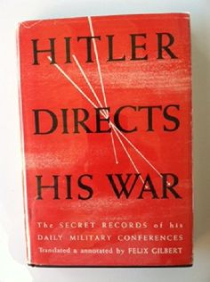 779 best rare books for sale luxortrades used books collection a well edited selection of the surviving stenographic records of hitlers daily military conferences of particular value in providing immediate evidence of fandeluxe Choice Image