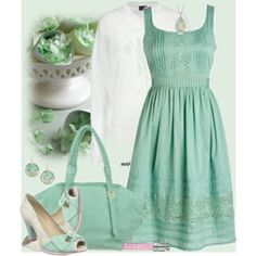 Lovely color of green.