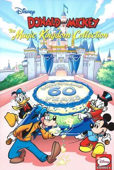 GCD :: Cover :: Donald and Mickey: The Magic Kingdom Collection