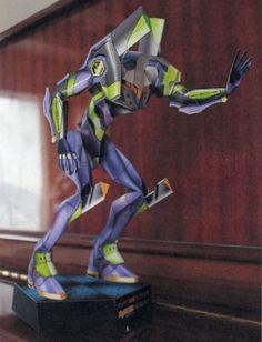 Neon Genesis Evangelion - Evangelion Unit-01 (Eva-01) Ver.3 Free Papercraft Download - http://www.papercraftsquare.com/neon-genesis-evangelion-evangelion-unit-01-eva-01-ver-3-free-papercraft-download.html