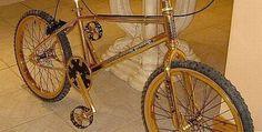 ¿Alguna vez se imagino tener una bicicleta de oro? Pues ahora puedes ser le dueño de una por tan solo $12.378 dolares