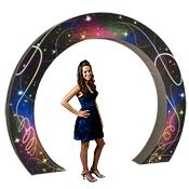Night Lights Circular Arch Each $160 For photo booth?