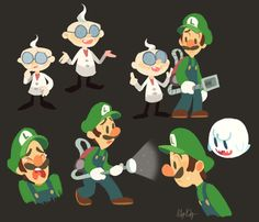 I played Luigi's Mansion for the first time a little while ago and fell in love with it. What a weird little game.