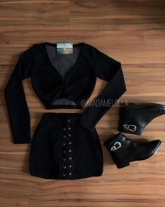 how to make outfits Kpop Outfits, Edgy Outfits, White Outfits, Pretty Outfits, Fall Outfits, Fashion Outfits, Womens Fashion, Fiesta Outfit, Stylish Girl Pic