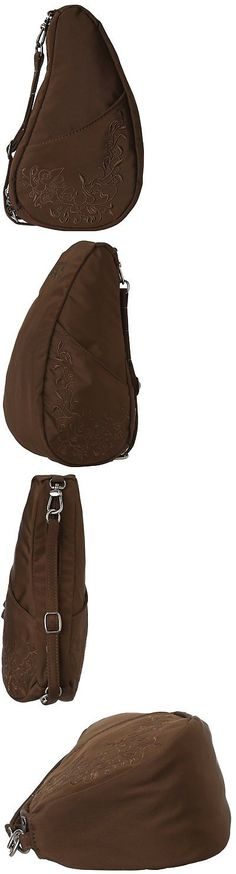 Women 158979: Ameribag I Love My Life Large Baglett, Chocolate -> BUY IT NOW ONLY: $39.6 on eBay!