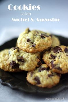 Le vrai cookie selon Michel & Augustin - Recette - Marcia Tack
