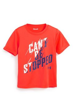 Toddler Boy's Under Armour 'Can't Be Stopped' Graphic T-Shirt
