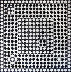 Orion Gris - Victor Vasarely - WikiArt.org