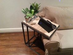 sofa side table for laptop