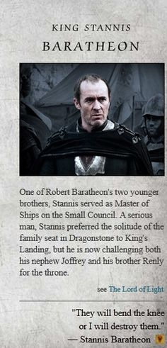 Game of Thrones images Stannis Baratheon wallpaper and background photos
