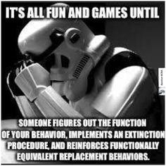 #behavioranalysis #ABAhumor #stormtrooper