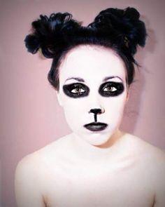 Panda   Teen Photograph About adults, animals, teens and panda make up
