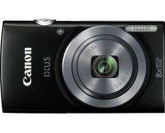 Canon Digitalkamera IXUS 160 20 Mio. Pixel Opt. Zoom: 8 x Schwarz
